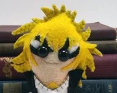 David Bowie / Jareth the Goblin King - Labyrinth plushie (made to order - may not arrive in time for Christmas)
