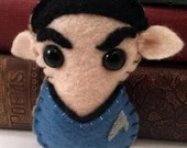 Commander Spock - Star Trek plushie (made to order - may not arrive in time for Christmas)