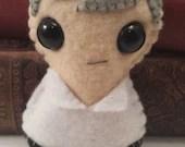 Greg Lestrade - Sherlock plushie (made to order)