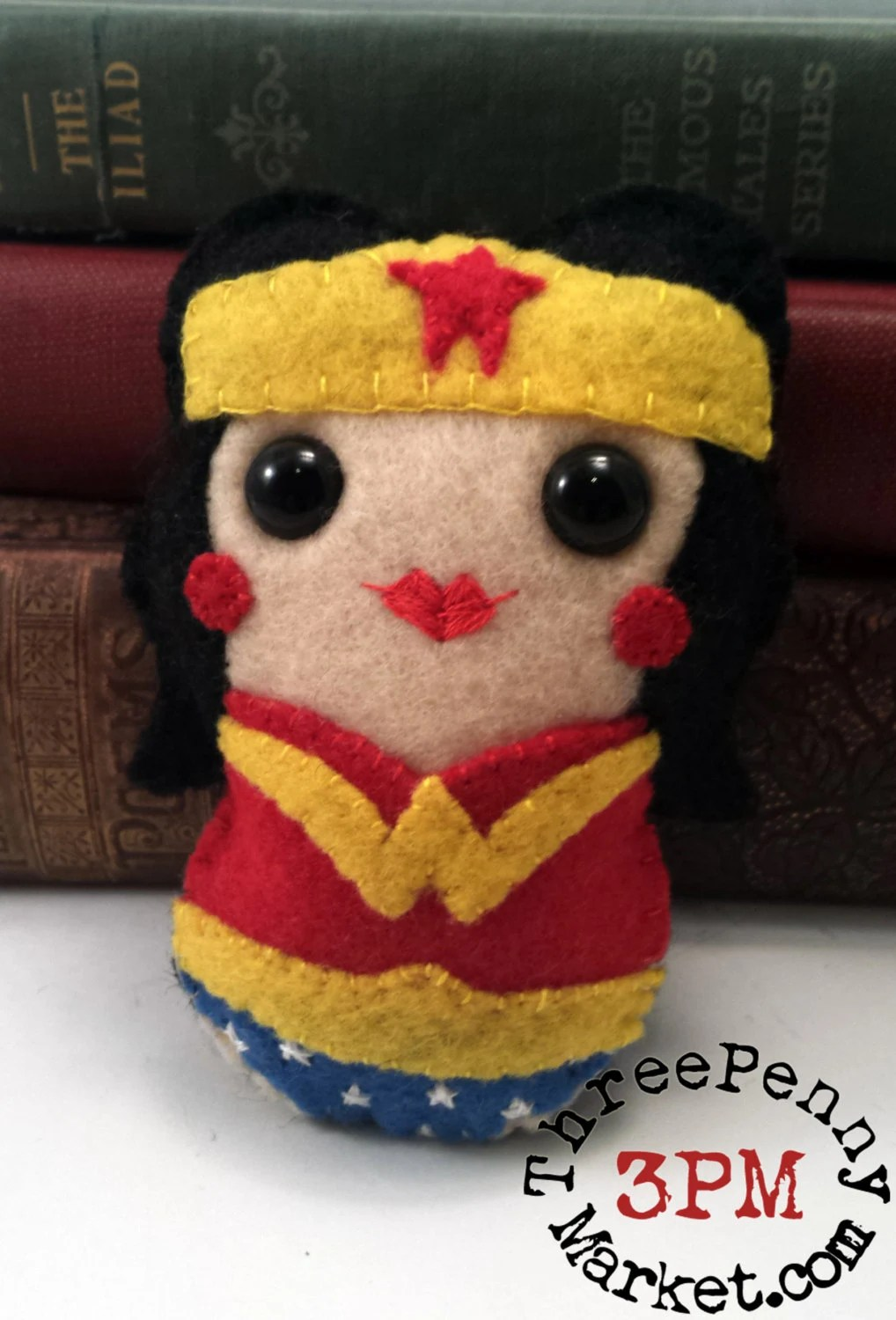 Wonder Woman  plushie - I...