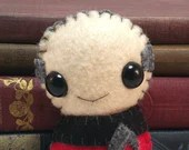 Jean-Luc Picard - Patrick Stewart - Star Trek TNG plushiehip! (made to order)