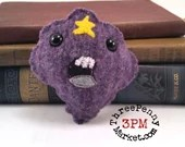 Lumpy Space Princess Adventure Time plushie (made to order)