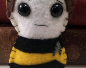 Data - Star Trek TNG plushie (made to order - may not arrive in time for Christmas)