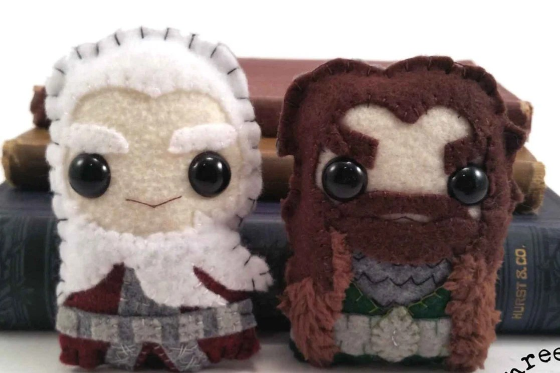 Thorin and Balin plushies...