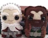 Thorin and Balin plushies (made to order)