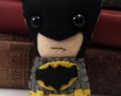 Batman plushie (made to order)