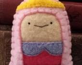 Princess Bubblegum Adventure Time plushie (made to order)