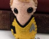 Captain James T Kirk - Star Trek plushie (made to order)