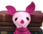 Piglet plushie (made to order - may not arrive in time for Christmas)