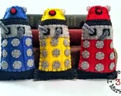 Dalek - Dr Who plushie (made to order - may not arrive in time for Christmas)