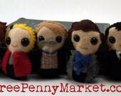 Sherlock plushies (made to order)