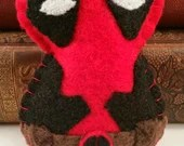 Deadpool plushie (made to order - may not arrive in time for Christmas)