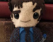 10th Doctor - David Tennant - Dr Who plushie (made to order)