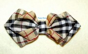 puppy dog bows pawberry bow