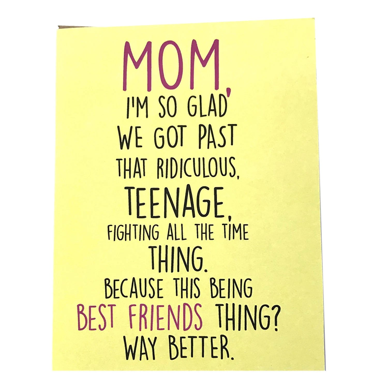 mom card mother s