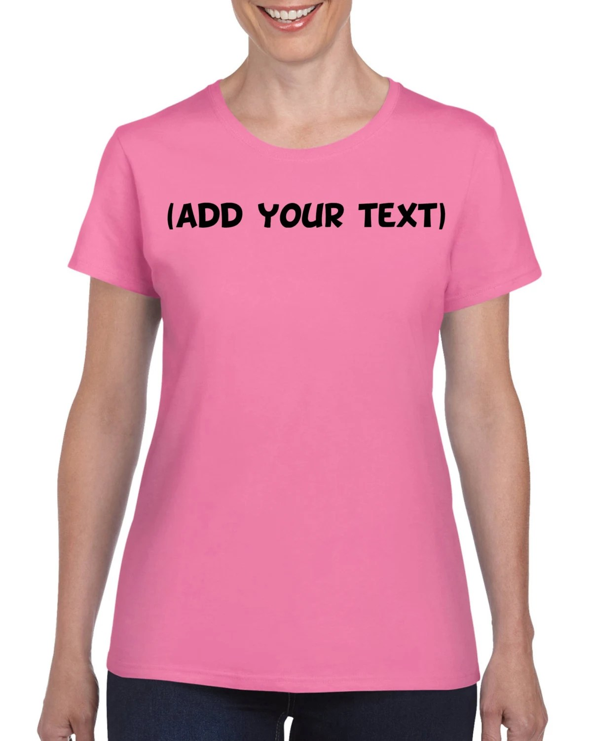 Personalized T-Shirt  Add your own text  Custom T-shirt  image 1