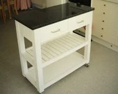 kitchen island trolley wi...