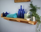wood wall shelf for bathr...