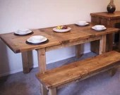wooden kitchen & dining t...