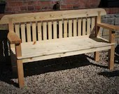 garden bench seat with wi...