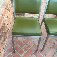 Steel Vinyl Chair Stackable Outdoor Dining Chairs Etsy Vintage Interroyal Side With Green Upholstery Shipping Is Not Free