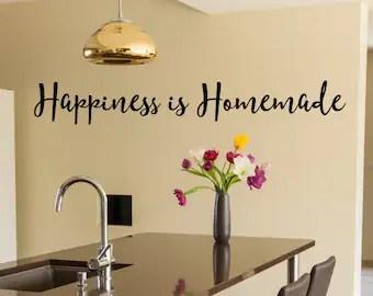 kitchen wall art corner nook mason jar vinyl quotes quote decal