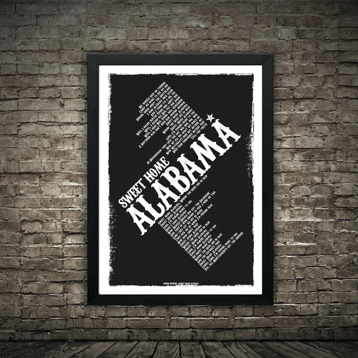 Now, listen to all your favourite songs, along with the lyrics, only on jiosaavn. Lynyrd Skynyrd Sweet Home Alabama Lyrics Poster Print Etsy