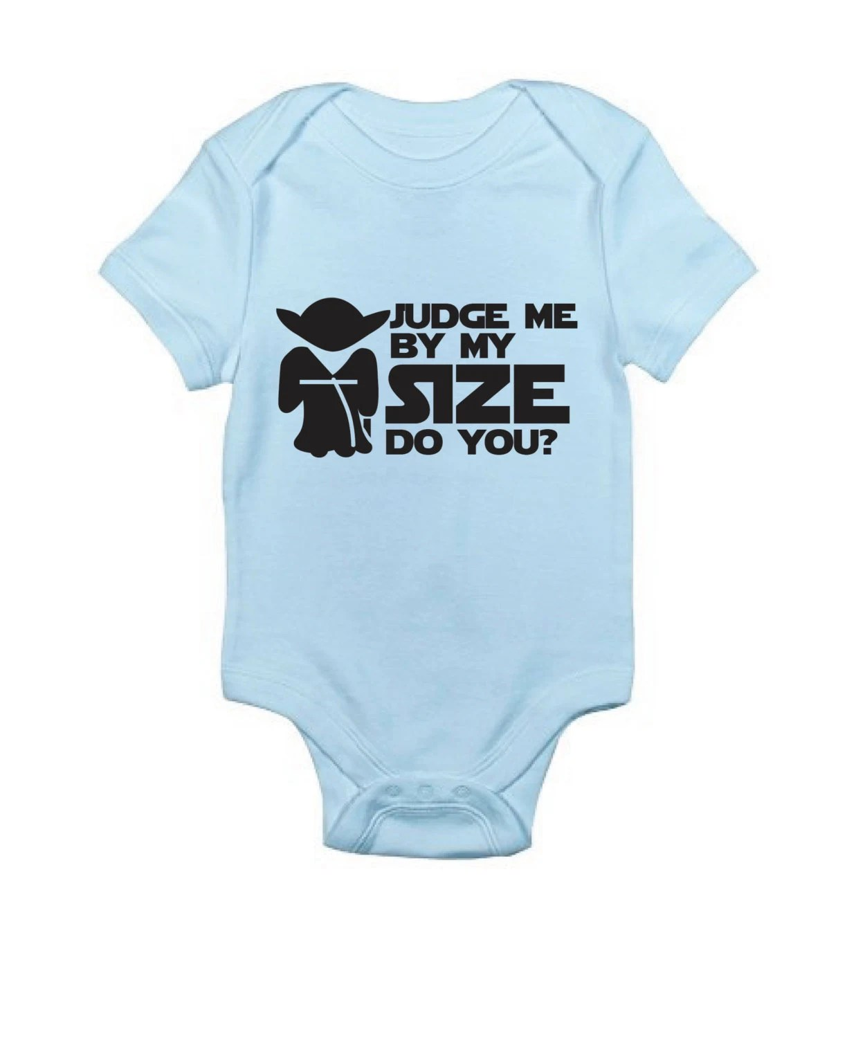 Star Wars Yoda Baby Clothes Judge Me By My Size Do You