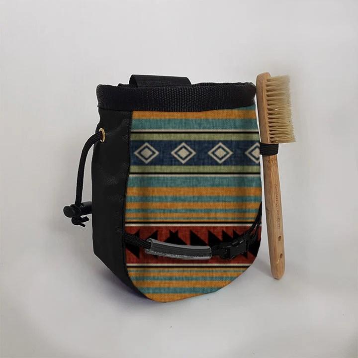 western blanket chalk bag