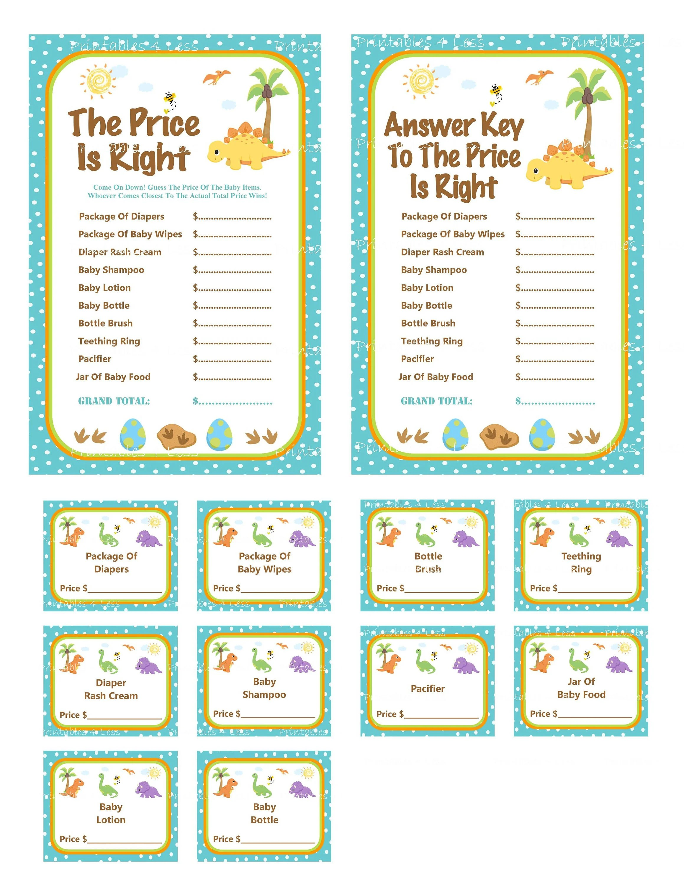 Price Is Right Answer Key : price, right, answer, Shower, Price, Right, Answers, Viewer