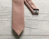 Rose Quartz Linen Skinny ...