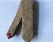 Mustard Skinny Tie