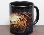 11oz Art Mug - Fine Art Printed on Ceramic Mug - Outer Space Galaxy Mug - Unique Gift