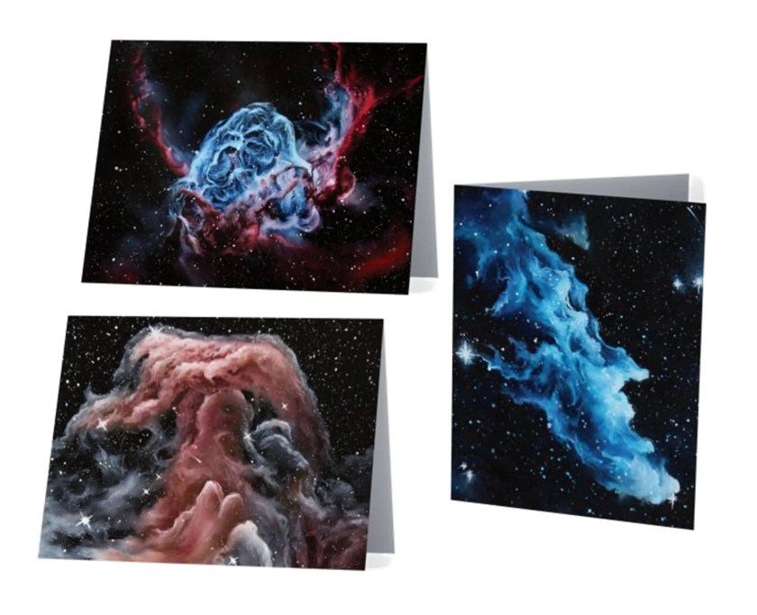 Nebula Art Notecard Set...