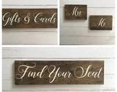 Combo Set of Wooden Wedding Decor