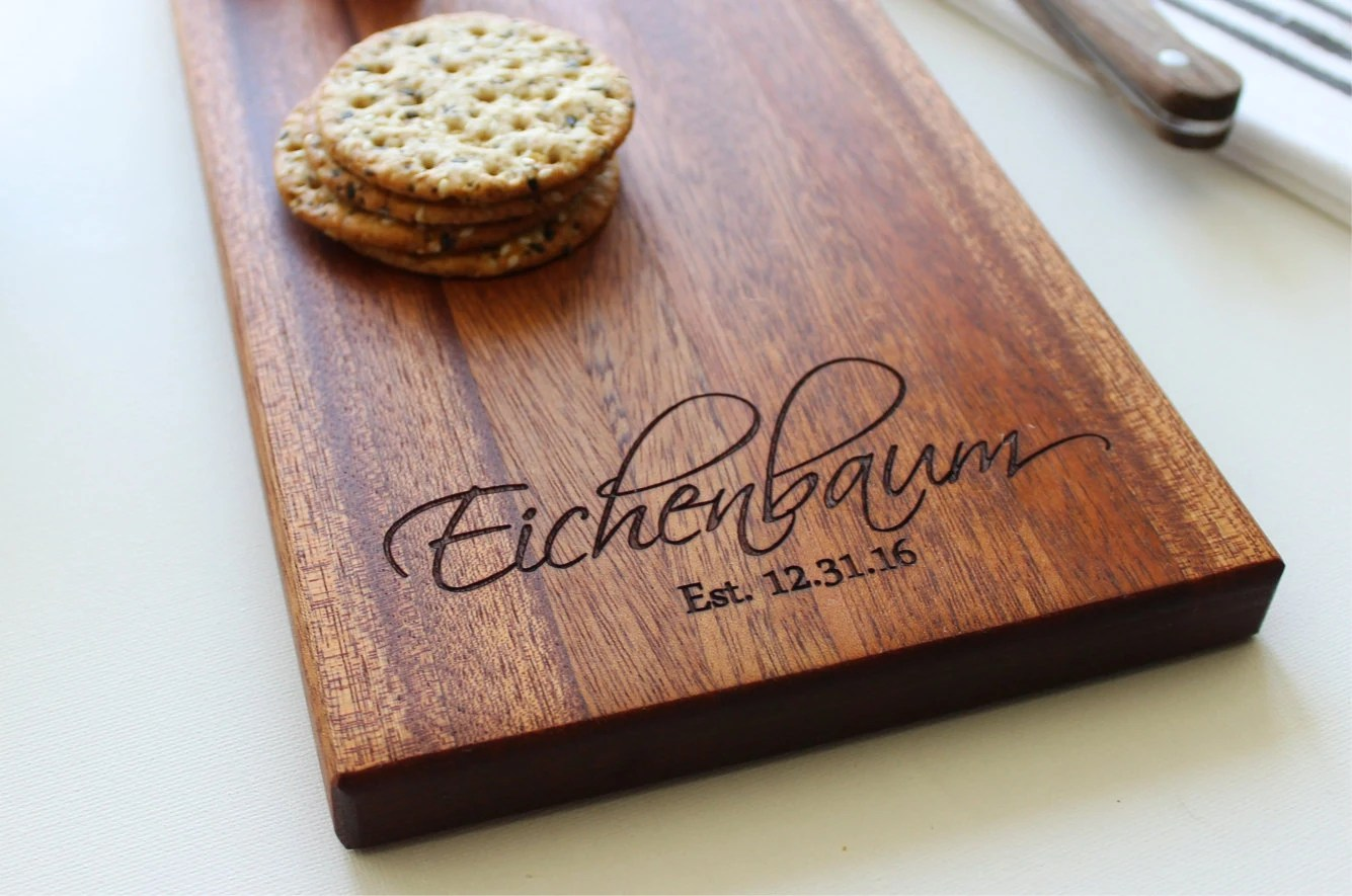 Cheese Board Personalized Cutting Board Christmas Gift Gift image 3