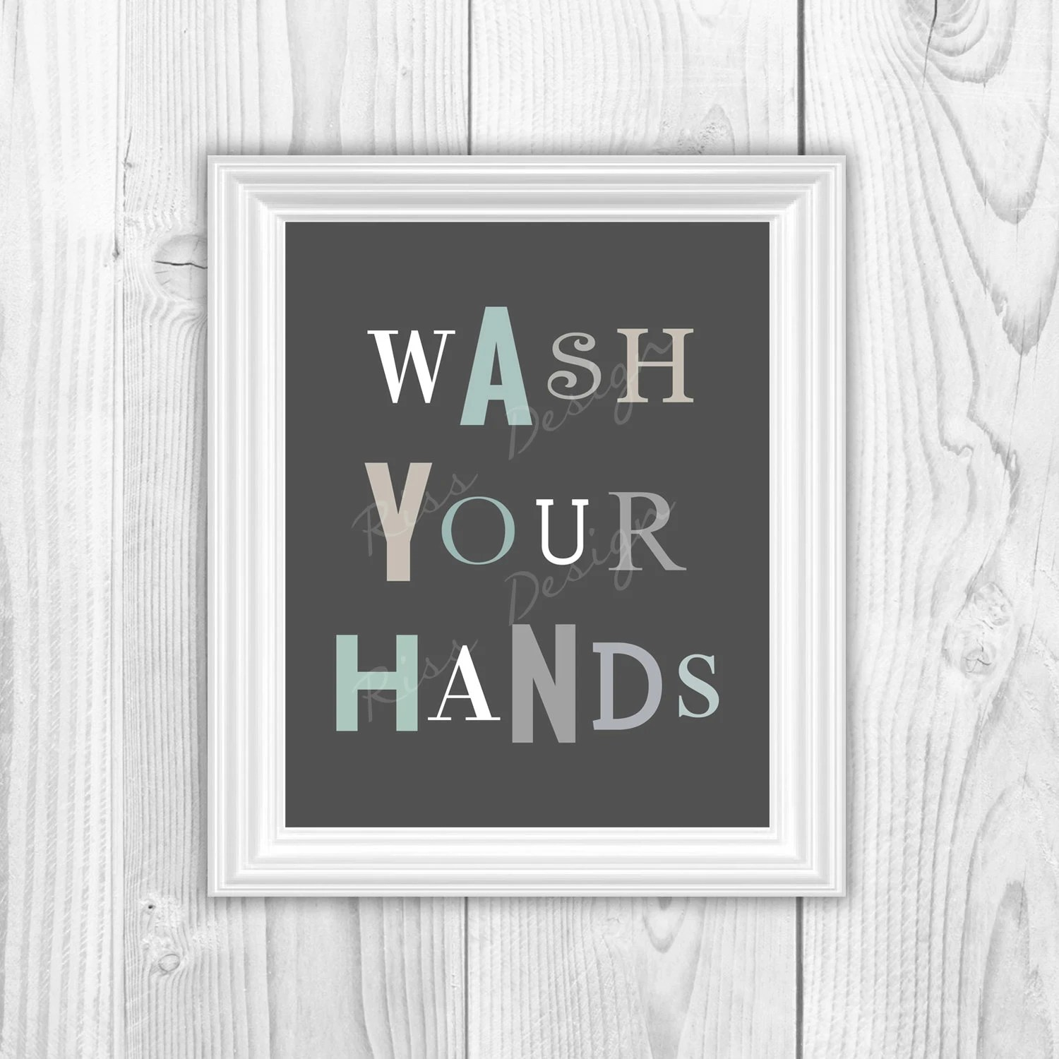 Wash Your Hands And Brush Your Teeth Printables Bathroom