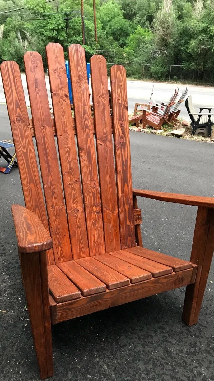 Staining Redwood Furniture
