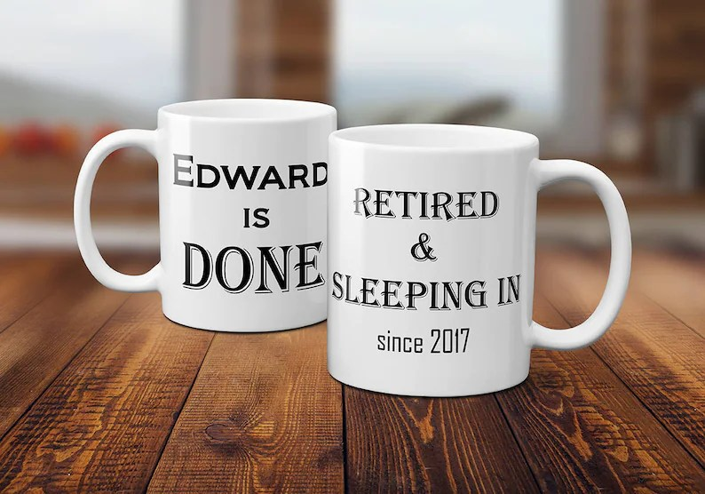 personalized retirement gifts for