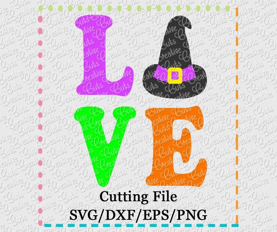 Download SVG EPS DXF Witch Love svg Halloween svg witch svg | Etsy