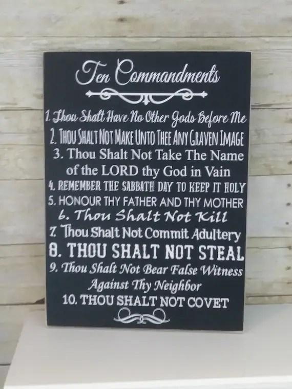 10 commandments bible # 31