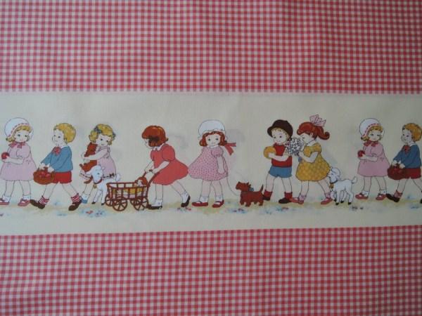 Yard Of Lecien Petite Marianne Retro Children Red