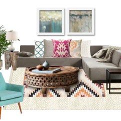 Living Room Online Photos Of Decorating Ideas Boho Interior Design Moodboard Bohemian Etsy Image 0