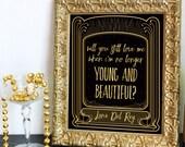 Printable Lana Del Rey wi...
