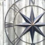 31 5 Metal Compass Compass Wall Art Metal Wall Art Navy Blue Compass Decor Metal Compass Decor Metal Wall Decor Nautical Decor