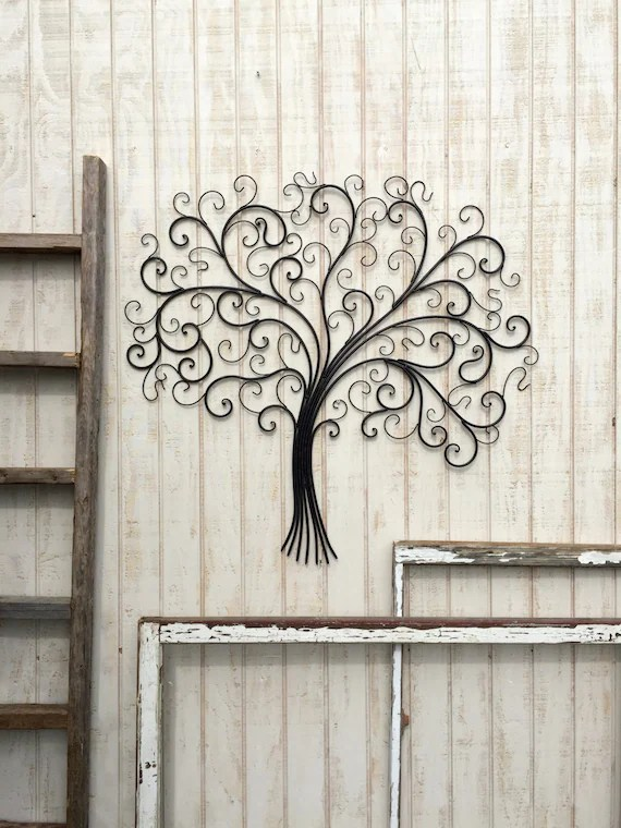 large metal wall art metal wall decor tree wall art metal etsy