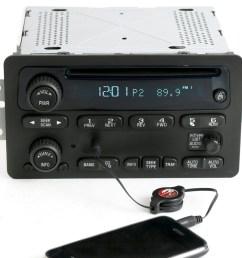 2001 impala radio 2000 to 2005 chevy car am fm cd w aux input radio [ 1500 x 1356 Pixel ]