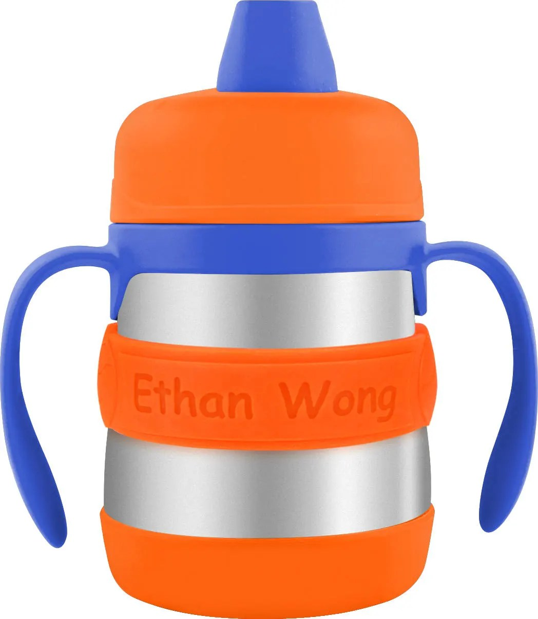 PACK of 3 Personalized Sippy Cup Labels & Baby Bottle Labels image 3