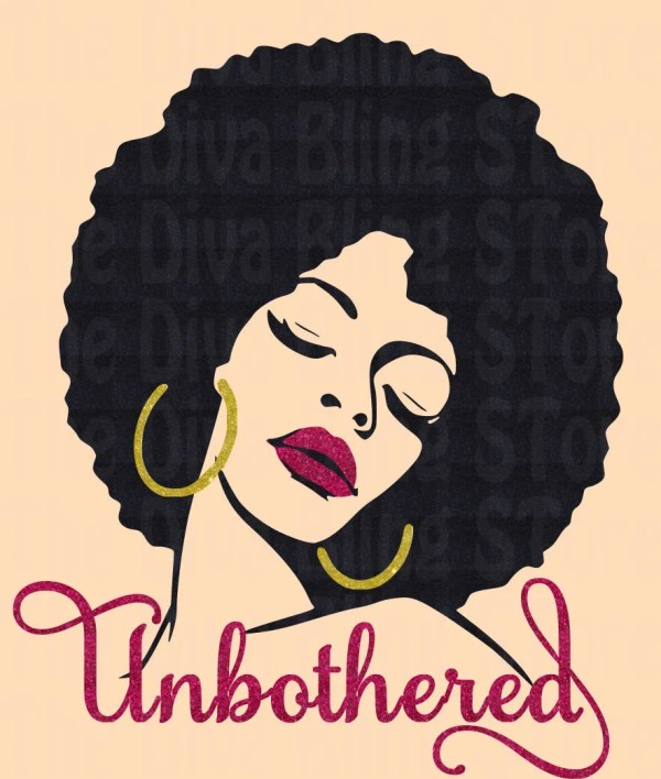 Unbothered Svg File