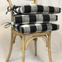 Cheap Seat Cushions For Chairs Chair Cover Velour Etsy Plaid Black And White Anderson Fabric Rustic Dining Pad Stool Cushion Padded Bar